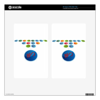 Virus Expansion Chart Skins For Kindle Fire