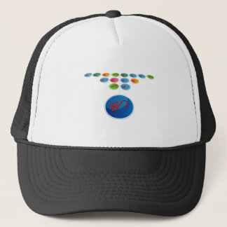Virus Expansion Chart Trucker Hat