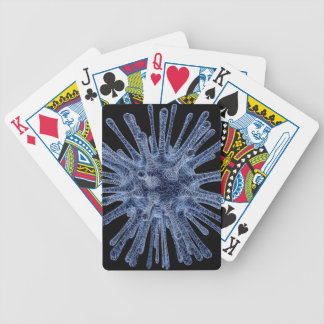 Virus Infected Cell Bicycle Playing Cards