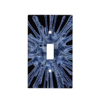 Virus Infected Cell Switch Plate Cover