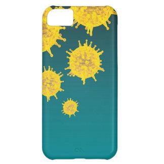 virus iPhone 5C cover