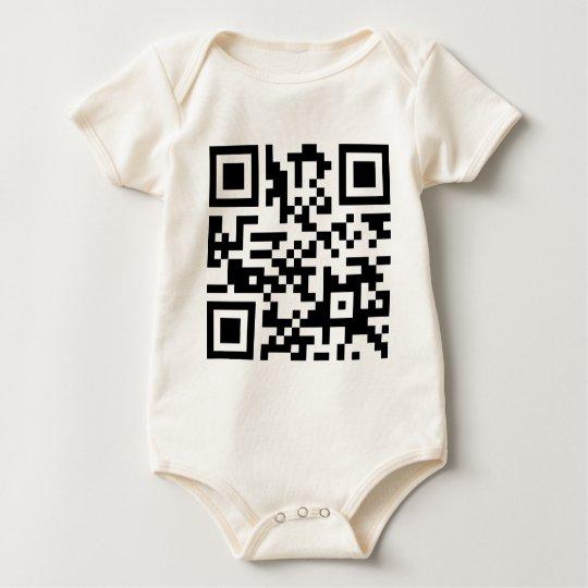 VIRUS IS NOW DOWNLOADING!   (QR Code Product) Baby Bodysuit