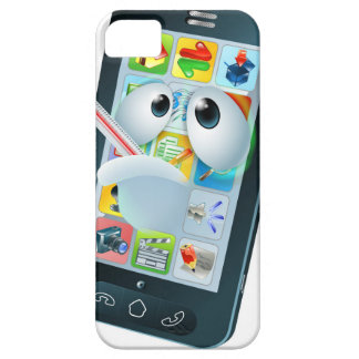 Virus mobile cell phone cartoon iPhone 5 cover