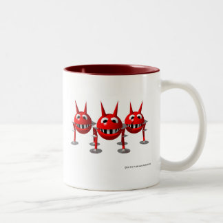 Virus Two-Tone Coffee Mug