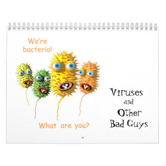 Virus y otros chicos malos calendarios