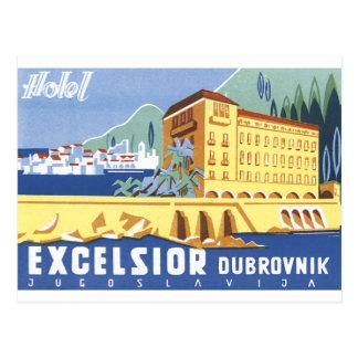 Virutas para rellenar Dubrovnik del hotel Tarjetas Postales