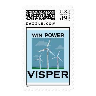 Vis VISPERWIN MAIL Postage Stamps