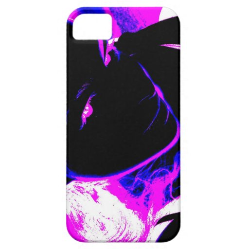 Visage Neon iPhone 5 Cover