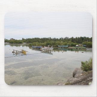 Visayan fishing boats mouse pad
