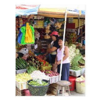 Visayan grocery store postcard