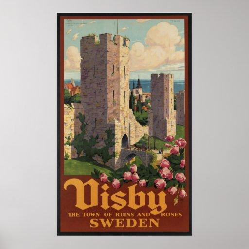 Visby Suecia Posters