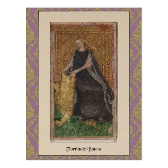 Visconti Tarot Deck Card 1 - circa 1428-1447