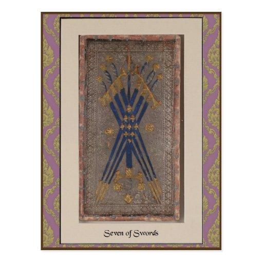 Visconti Tarot Deck Card - circa 1428-1447 Postcard