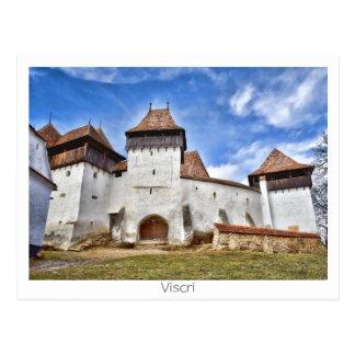 Viscri fortificó la iglesia postales