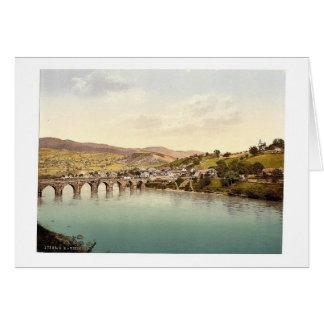 Visegrad Bosnia Austro-Hungary rare Photochrom Card