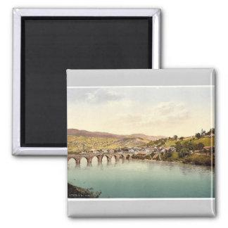 Visegrad Bosnia Austro-Hungary rare Photochrom Magnet