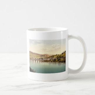 Visegrad Bosnia Austro-Hungary rare Photochrom Mug