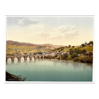 Visegrad Bosnia Austro-Hungary rare Photochrom Post Cards
