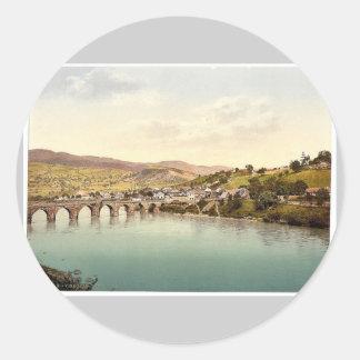 Visegrad Bosnia Austro-Hungary rare Photochrom Stickers