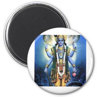 Vishnu 2 Inch Round Magnet