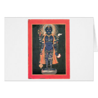 Vishnu as macrocosm card