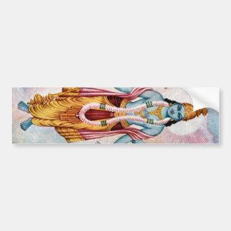 Vishnu Car Bumper Sticker