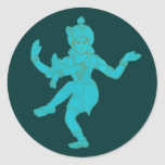 Vishnu Classic Round Sticker