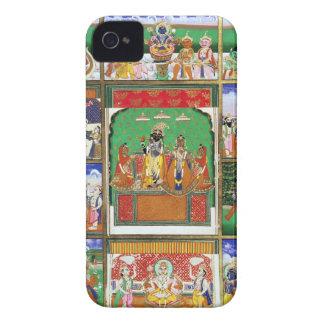 Vishnu en el centro de sus diez avatares, Jaipur, Case-Mate iPhone 4 Fundas