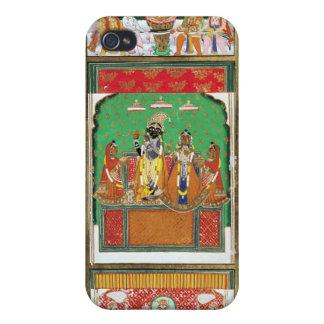 Vishnu en el centro de sus diez avatares, Jaipur, iPhone 4 Carcasa