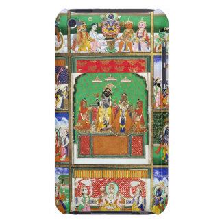 Vishnu en el centro de sus diez avatares, Jaipur, iPod Touch Case-Mate Funda