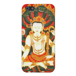 Vishnu Hindu Meditation Spiritual Vintage Art iPhone SE/5/5s Cover