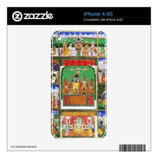 Vishnu in the centre of his ten avatars, Jaipur, R iPhone 4S Skin