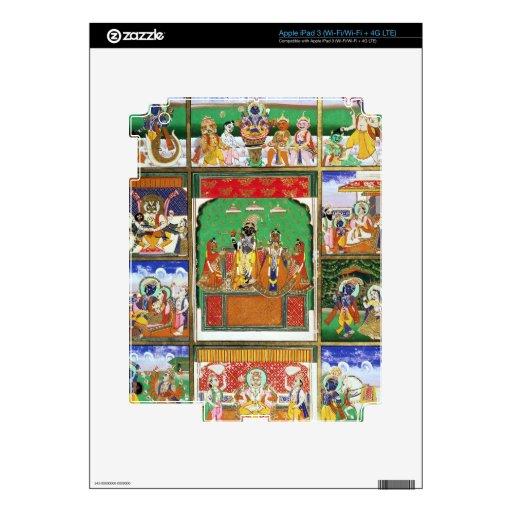 Vishnu in the centre of his ten avatars, Jaipur, R Skins For iPad 3
