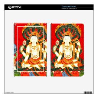 Vishnu India Hindu God Godess Kindle Fire Skin
