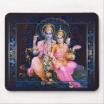 Vishnu & Lakshmi Mousepad