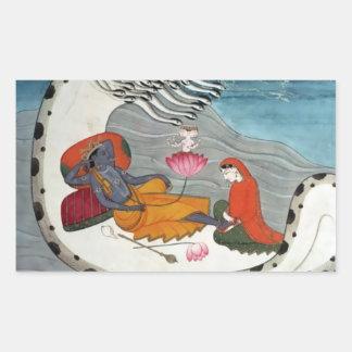 Vishnu & Lakshmi Stickers