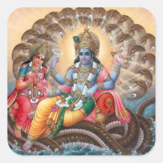 Vishnu & Lakshmi Stickers - Version 2