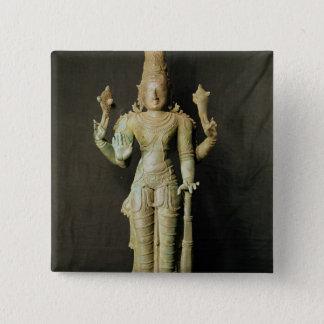 Vishnu, Late Chola Button