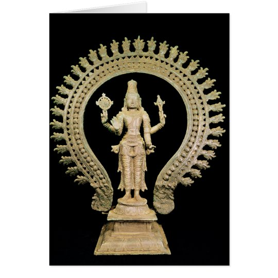 Vishnu, Late Chola Card