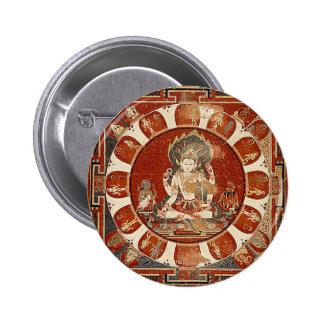 Vishnu Mandala Pinback Button