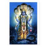 Vishnu Postcard