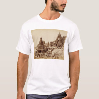 Vishnu Pud and Other Temples, Benares (sepia photo T-Shirt
