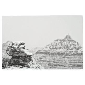Vishnu Temple Metal Print