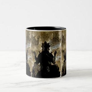 Vishnu Two-Tone Coffee Mug