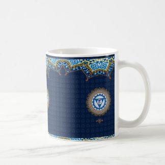 Vishudda azul, 5to Chakra, taza de Chakra de la