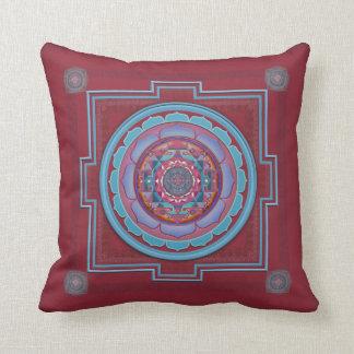 Vishuddha Cushion Throw Pillows