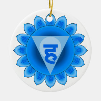 Vishuddha The Throat Chakra Ceramic Ornament