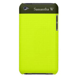 Visibilidad amarilla, alta de neón Case-Mate iPod touch protector