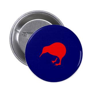 visibilidad baja del kiwi del roundel de Nueva Zel Pins