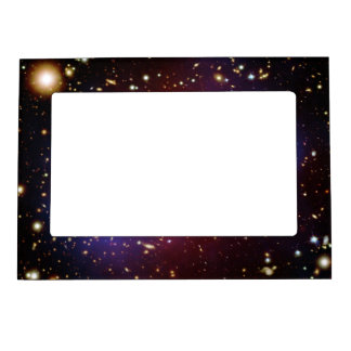 Visible-Light and X-Ray Composite Image of Galaxy Magnetic Picture Frames